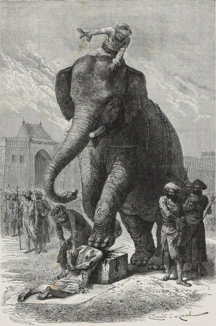 Жуткие способы наказания из прошлого