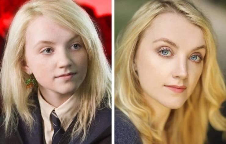 Актёры из Гарри Поттера: тогда и сейчас