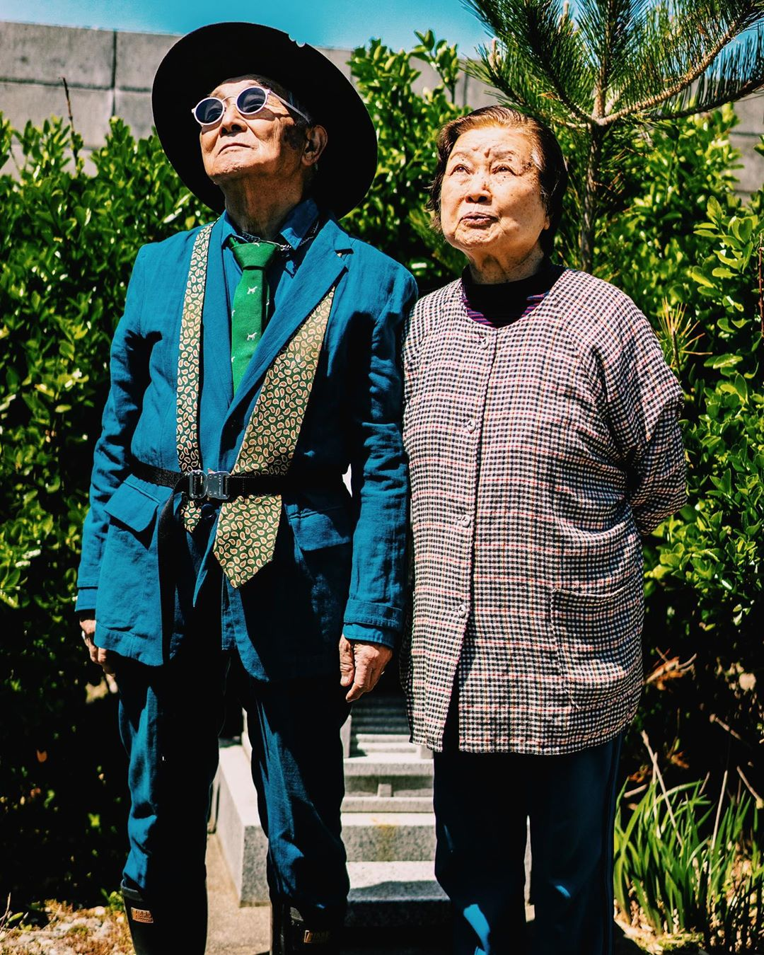 84-летний дедушка из Японии за неделю стал популярен в Instagram