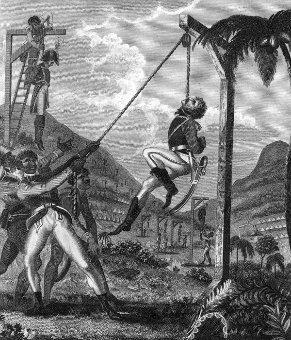 История появления гаитянских поляков