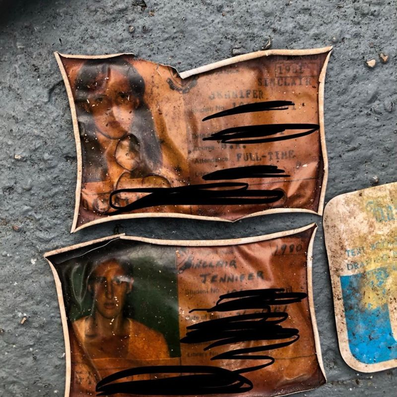 Нашелся утерянный 40 лет назад кошелек