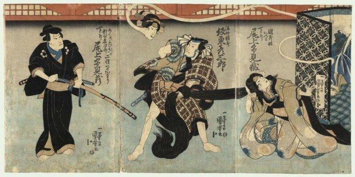 10 жутких чудовищ из мифологии Японии