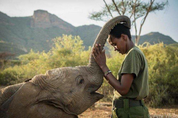 Добрые снимки с животными, которые растопят ваше сердце