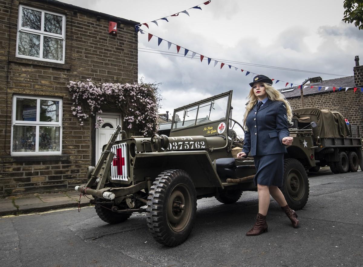 Атмосфера 1940-х годов пришла в Западный Йоркшир