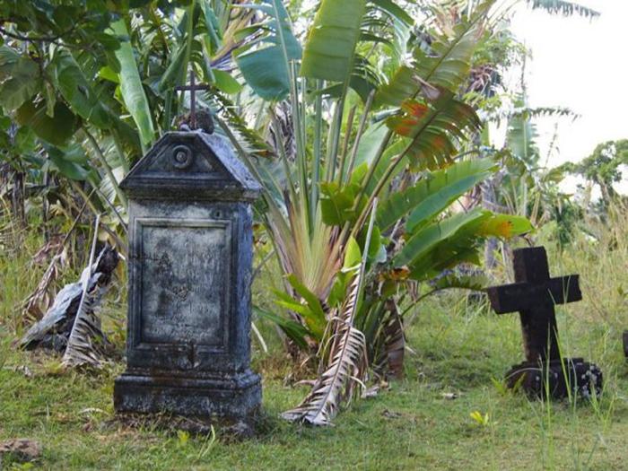 Остров Святой Марии — бывшая база пиратов