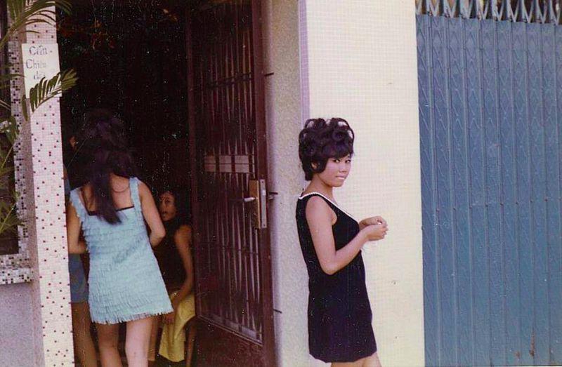 Расцвет проституции во время Вьетнамской войны