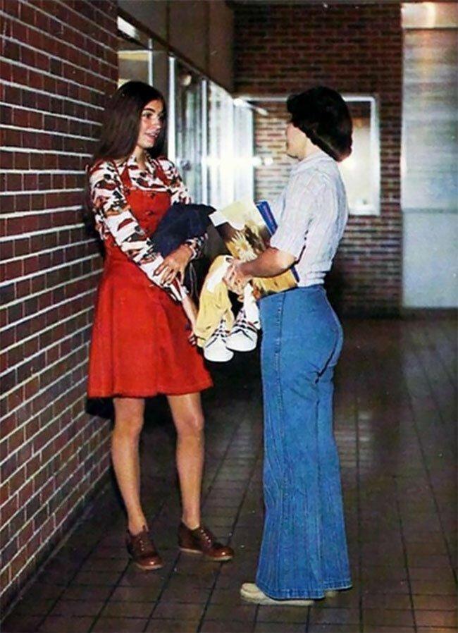 Школа 1970-х в США и других западных странах