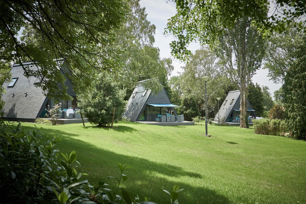 Треугольные домики в Венгрии