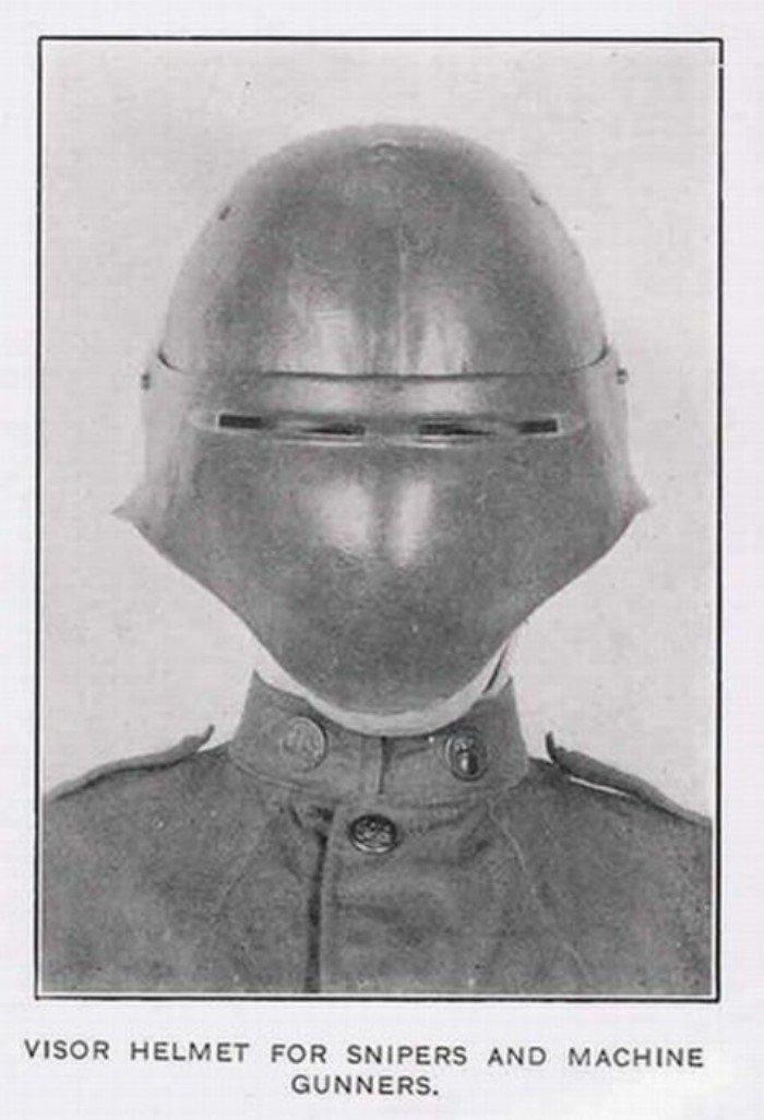 Странные военные средства защиты из прошлого