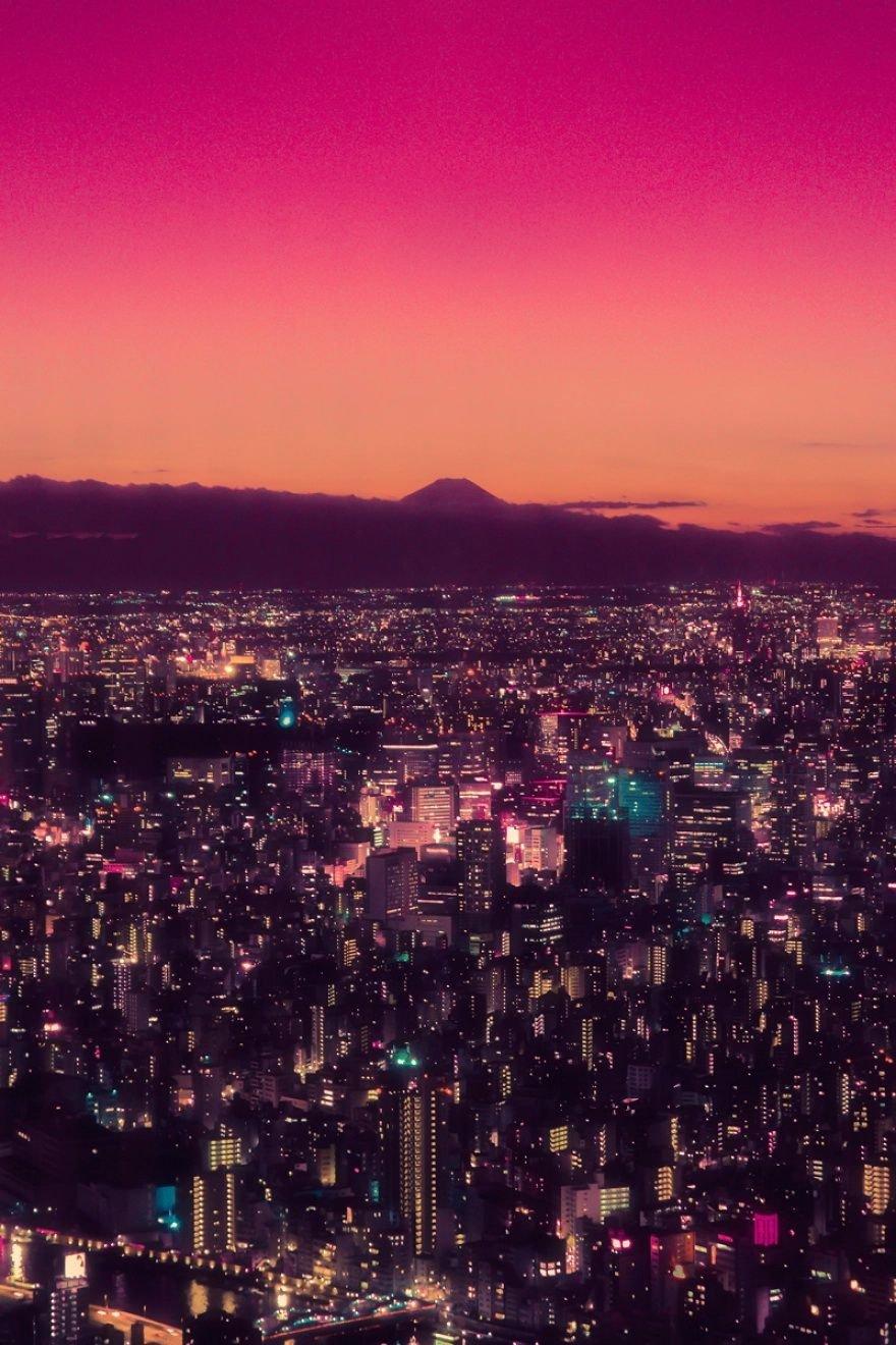Захватывающий вид на Токио от Давиде Сассо