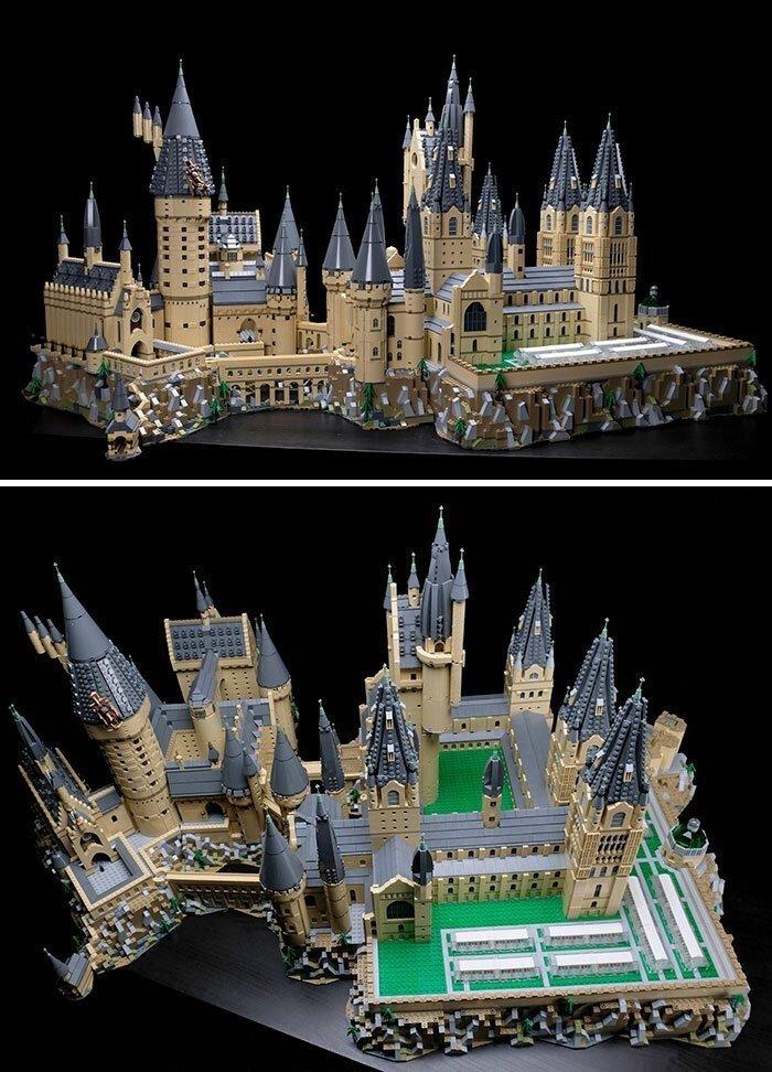 35 удивительных шедевров из деталей LEGO
