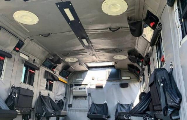 Бронеавтомобиль Горец-ССН, созданный по заказу Росгвардии