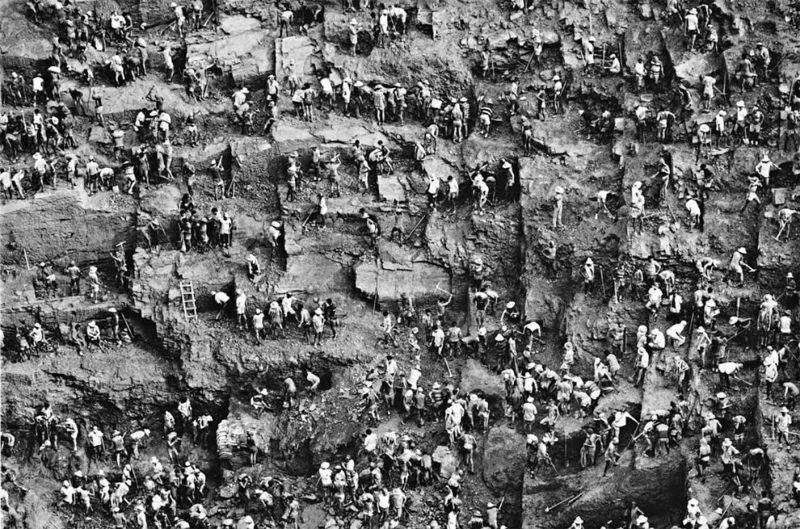 Одна из крупнейших шахт в мире по добыче золота Серра Пелада
