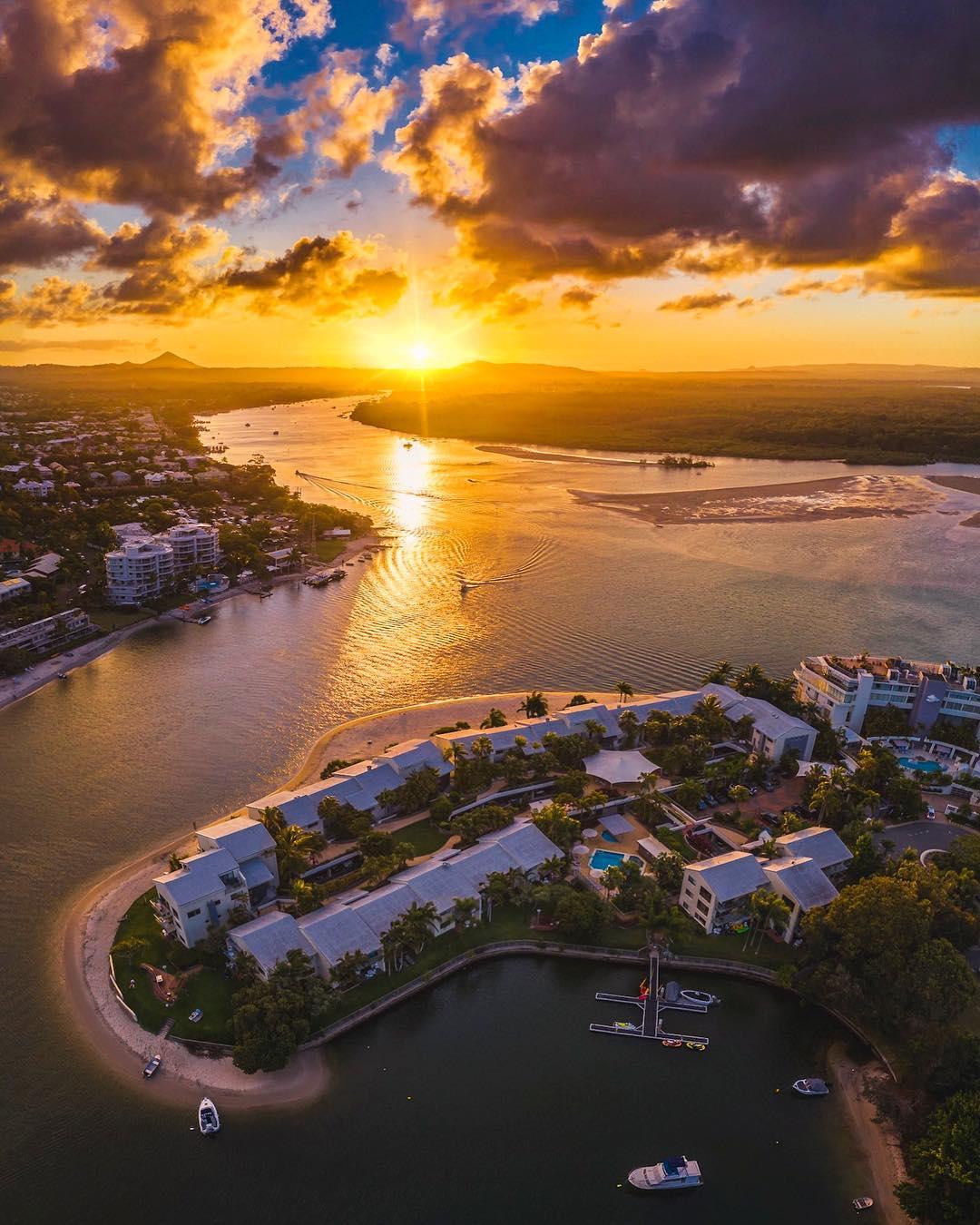 Австралия с высоты на аэрофотоснимках Сэма Фристина