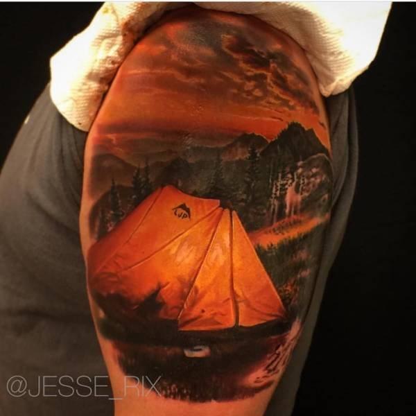 Очень реалистичные 3D-татуировки от мастеров своего дела