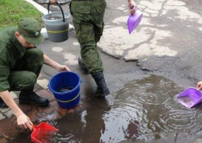 Странные занятия, которые нужно делать в армии