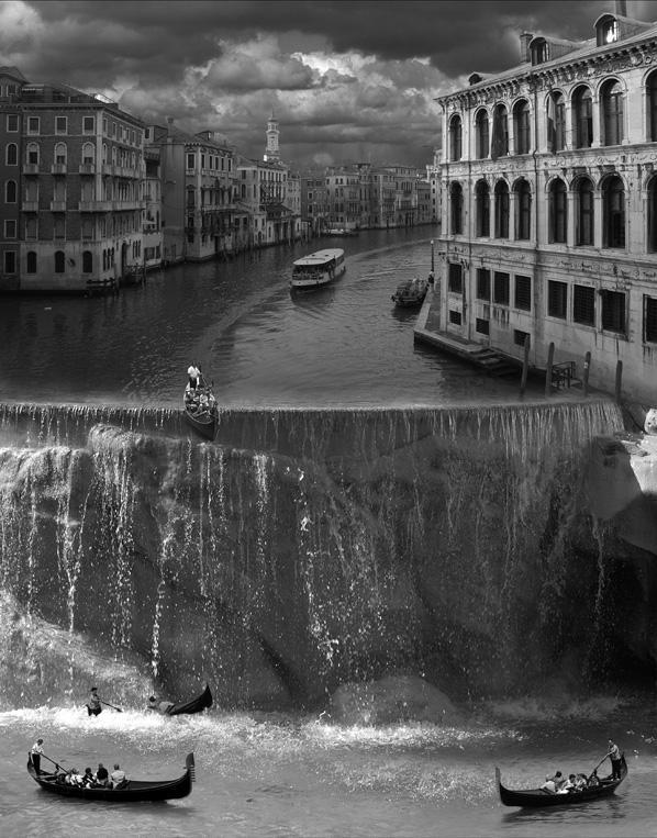 Сюрреализм в работах фотохудожника Томаса Барбе