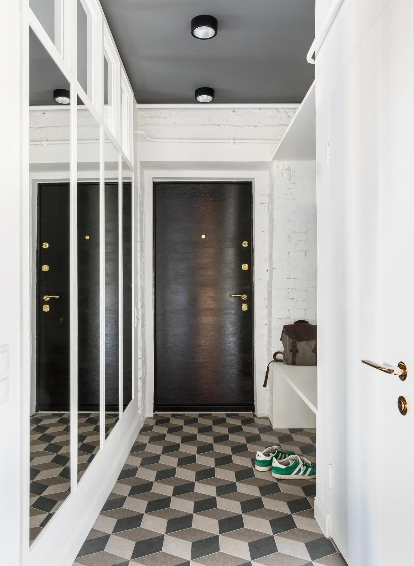 Джунгли в московской квартире на 45 квадратных метрах