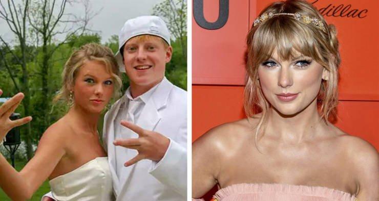 Фотографии знаменитостей с выпускных