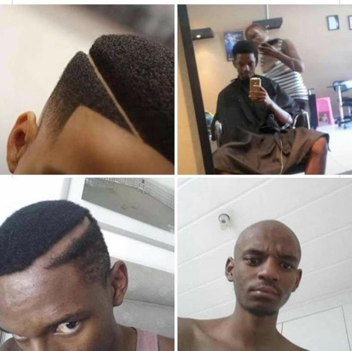 Они хотели себе крутую причёску
