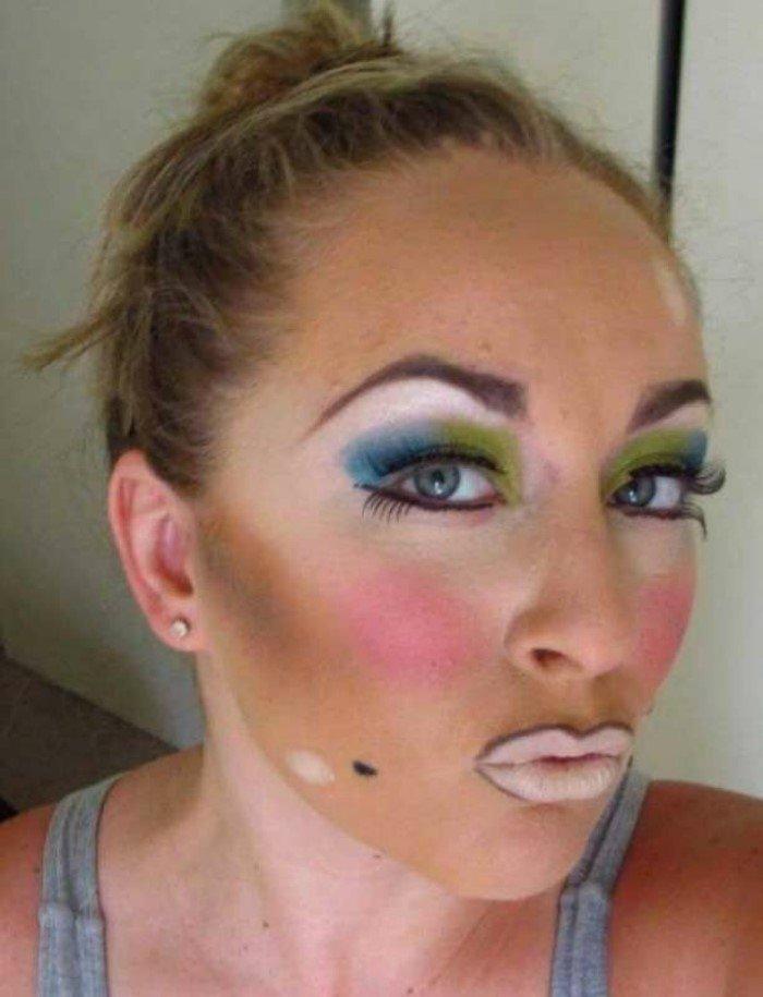 15 девушек, которые не умеют пользоваться косметикой