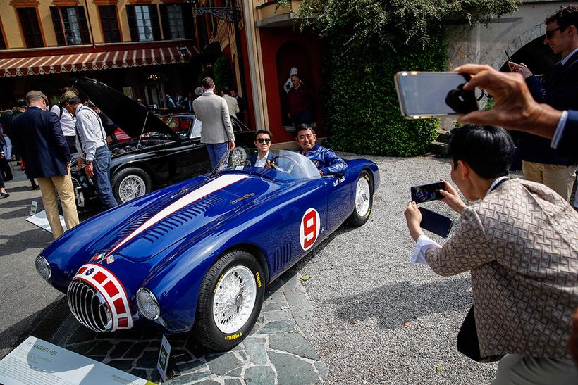 Лучшие ретроавтомобили XX века в Италии