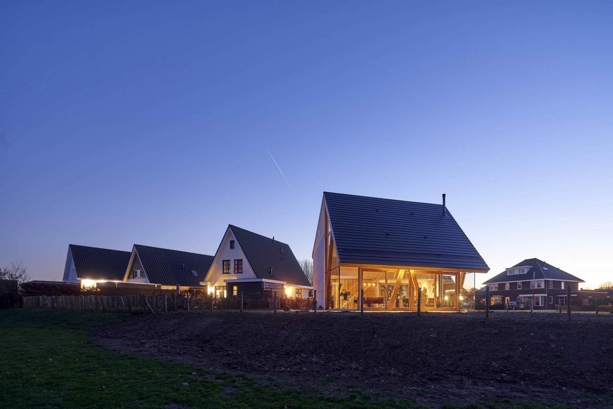 Загородный дом-амбар в Нидерландах