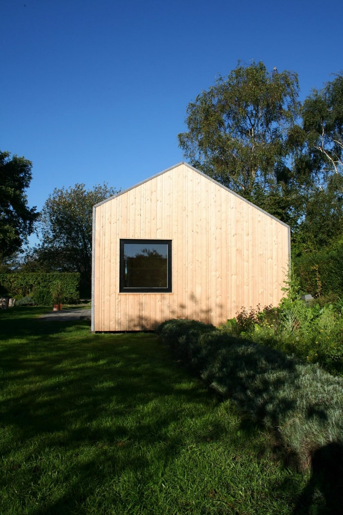 Деревянный частный дом в Дании