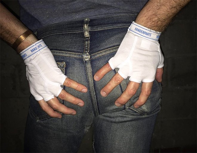 Handerpants - трусы для рук популярны в Instagram