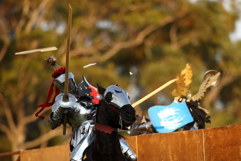 Рыцарь из Австралии стал чемпионом мира по рыцарским поединкам