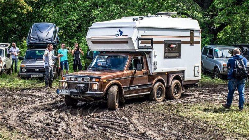 Советский автодом на базе Нивы