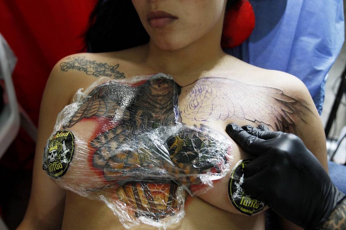 Выставка татуировок Expotatuaje 2019 в Медельине