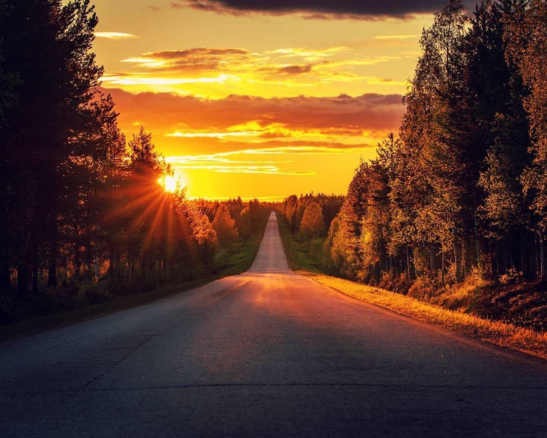 Природные пейзажи Лапландии на снимках Сами Такараутиё