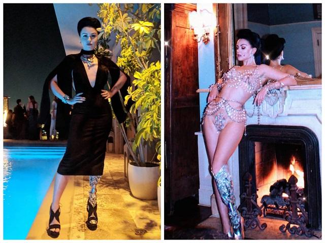Виктория Модеста - успешная модель без ноги