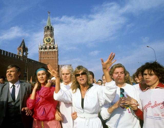 Зарубежные знаменитости, которые побывали в СССР