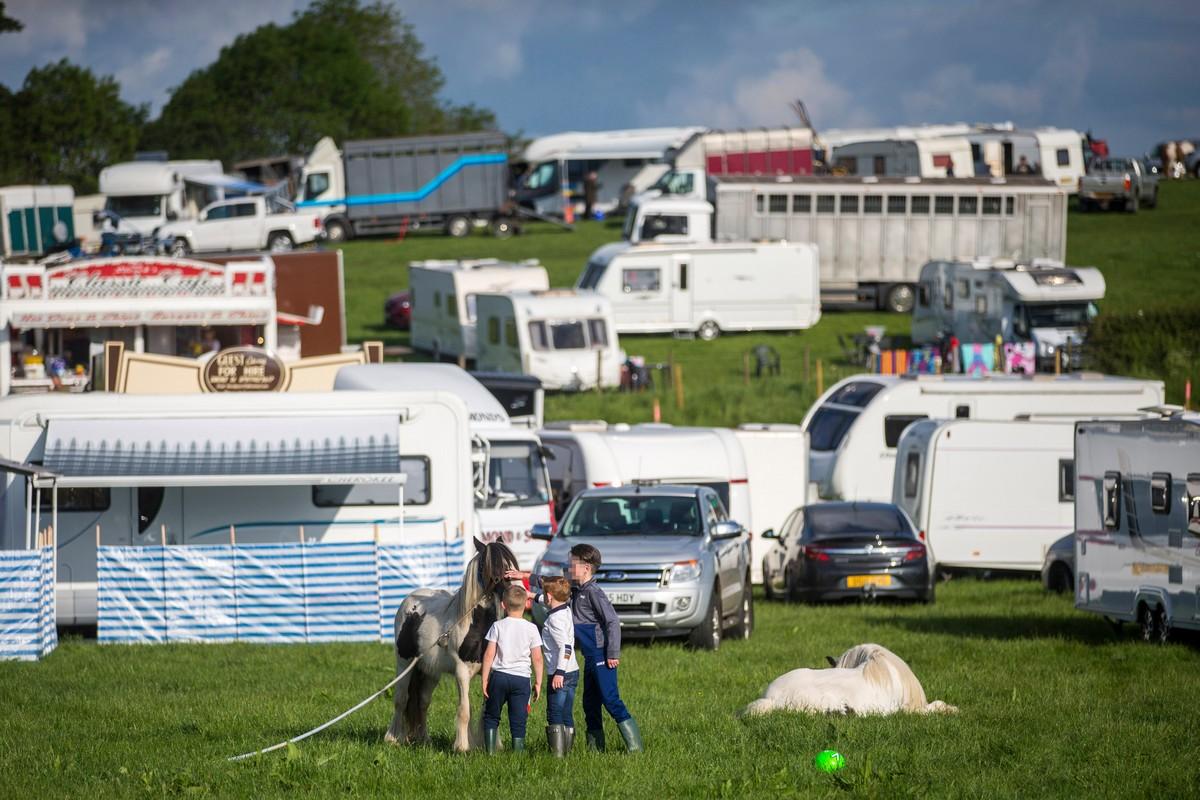 Конная ярмарка Эпплби - самое большое собрание цыган в Европе