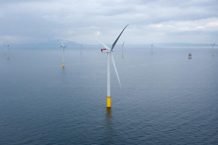 Самая крупная в мире морская ветряная электростанция Hornsea One