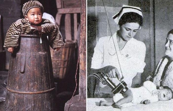 Самые странные изобретения по уходу за детьми