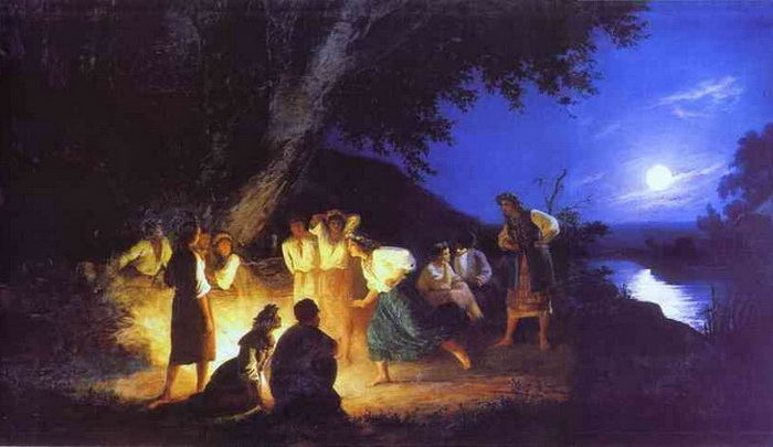 Для чего наши предки купались ночью в росе