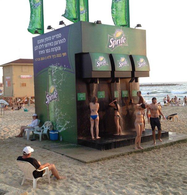 Забавные картинки о пляжных буднях