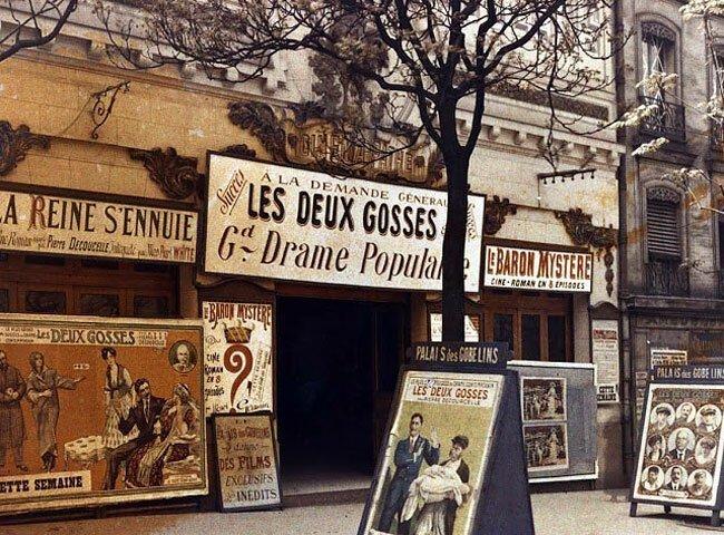 Автохромные снимки Парижа, сделанные столетие назад