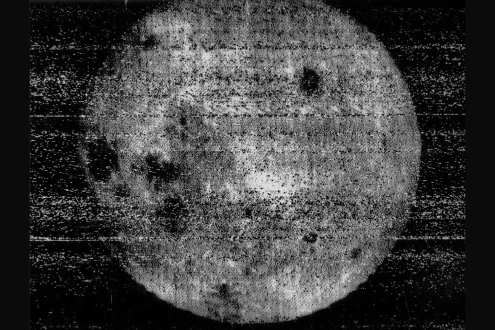История исследований Луны в фотографиях