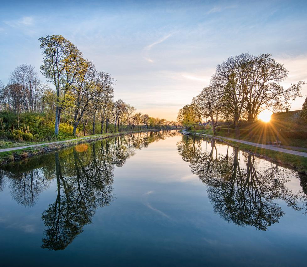 Природные пейзажи Швеции на снимках Кристиана Линдстена
