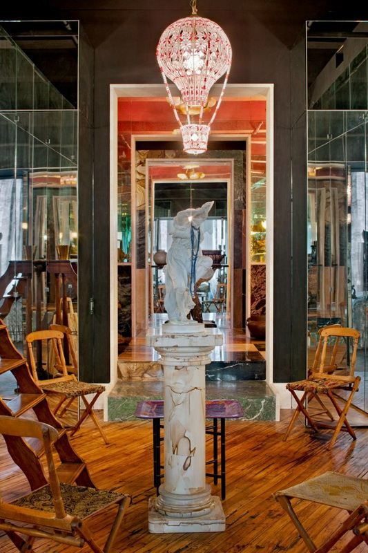 Хипстерский лофт модели Агнесс Дин в Вильямсбурге