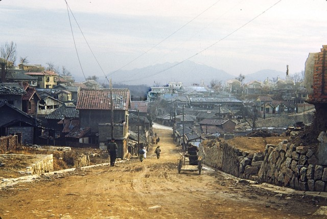 Подборка снимков, сделанных американскими солдатами в Корее 1952-1953 годы