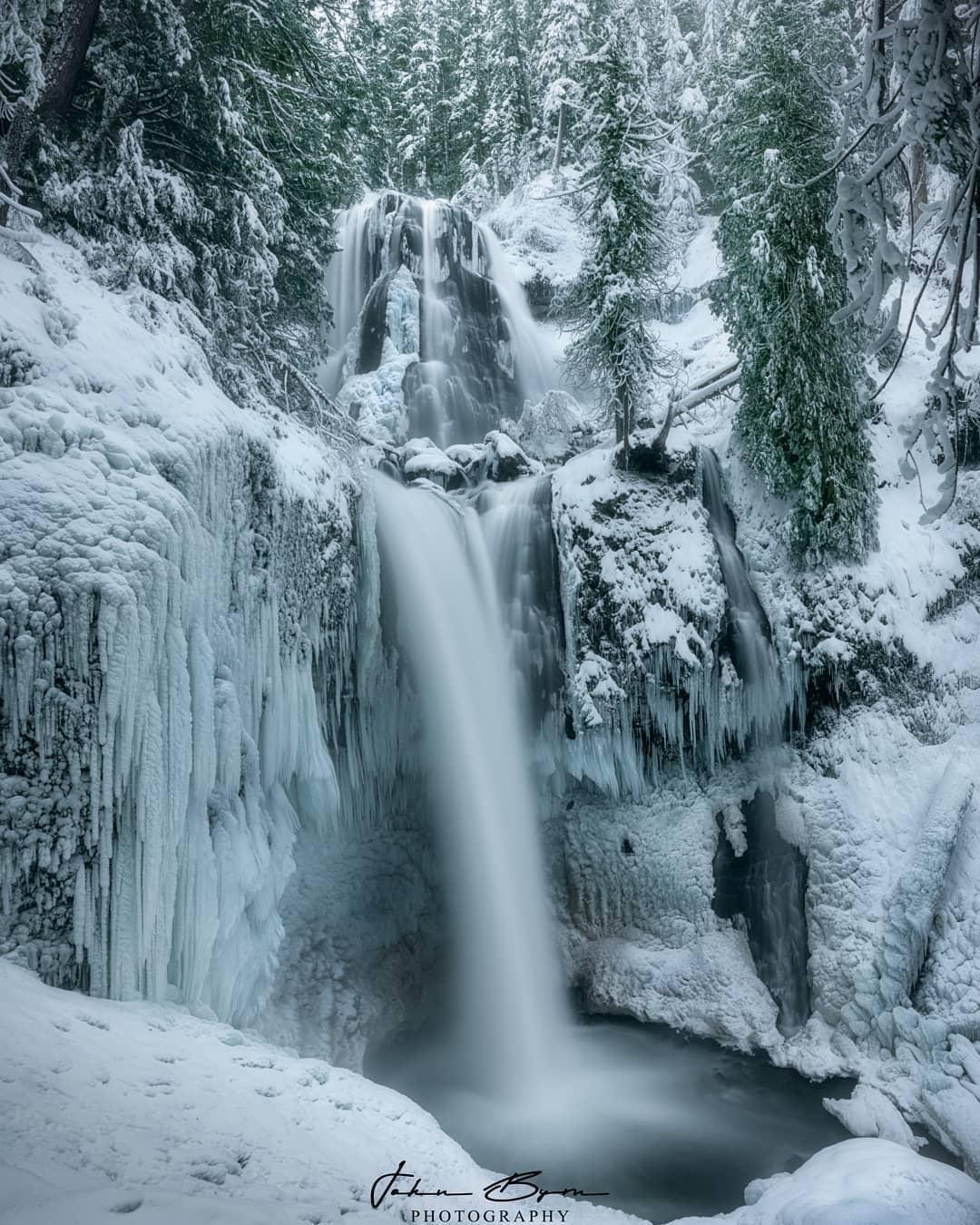 Природные пейзажи на снимках Джона Бирна