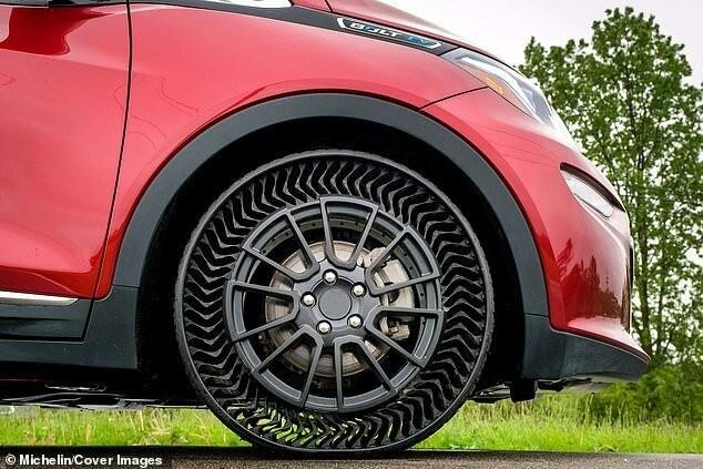 Michelin и General Motors начинают испытания безвоздушных шин