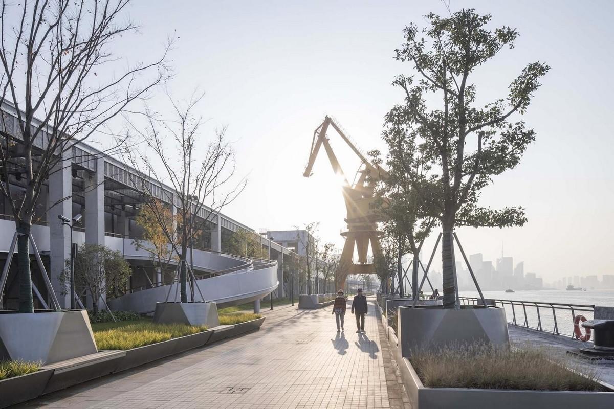 Реконструкция набережной в Шанхае