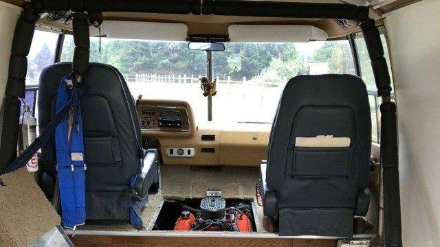 GMC Transmode 1976 года - самый быстрый в мире автодом