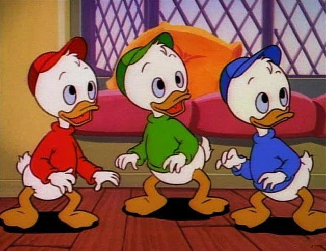Классический и обновленный вид знаменитых персонажей мультфильмов